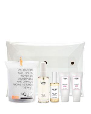 OUAI X Aquis Hair Care Gift Set ($98 Value)