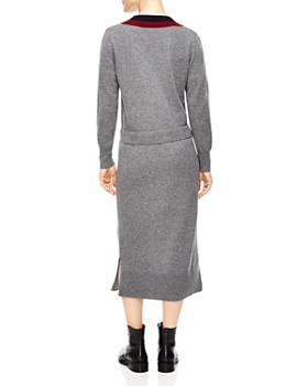 Sandro - Bruyère Stripe Sweater Dress