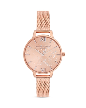 Olivia Burton Celestial Rose Gold-Tone Watch, 34mm