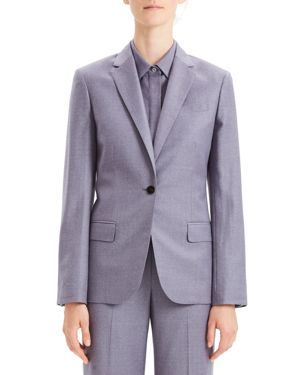 Theory Sleek Wool Blazer