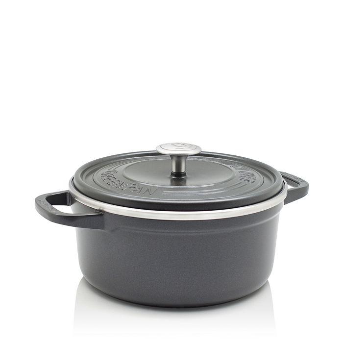 GreenPan - SimmerLite 4.5-Quart Cast Aluminum Ceramic Nonstick Dutch Oven