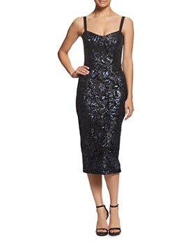 Dress the Population - Lynda Sequined Midi Dress