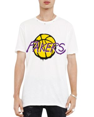 THE PEOPLE VS Fakers Tee in White