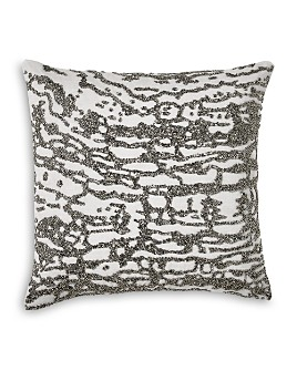 "Donna Karan - Luna Beaded Decorative Pillow, 16"" x 16"""