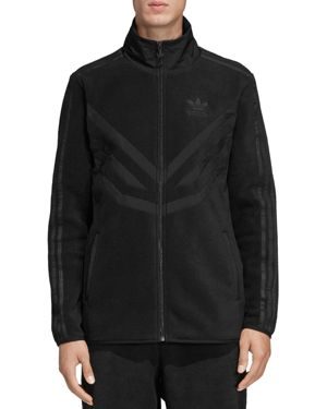 adidas Originals Mixed-Media Fleece Track Jacket