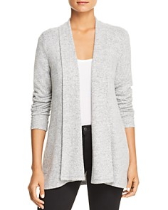 Cupio - Draped Long Sleeve Cardigan