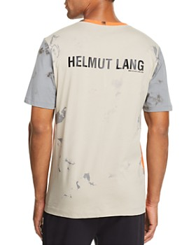 Helmut Lang - Color-Block Acid-Wash Tee