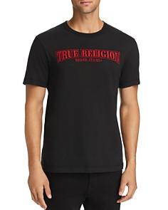 True Religion - Arch True Embroidered Logo Tee