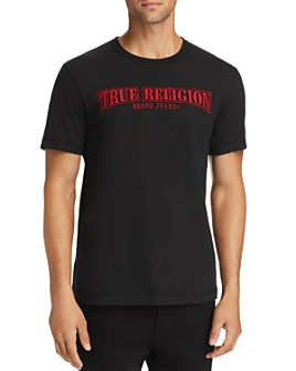 True Religion - Arch True Embroidered Logo Tee