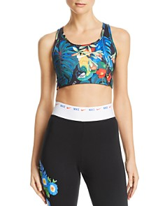 Nike - Hyper Swoosh Tropical Sports Bra
