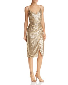 Gold Cocktail Dress Bloomingdale S
