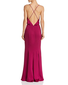 Fame and Partners - Theodora Satin Gown