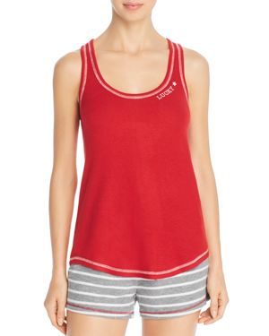 PJ SALVAGE On Holiday Racerback Lounge Tank in Red
