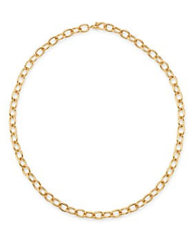 """Roberto Coin - 18K Yellow Gold Charm Set Necklace, 18"""""""