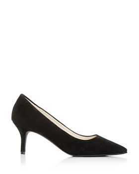 Cole Haan - Women's Marta Waterproof Pointed Toe Mid-Heel Pumps