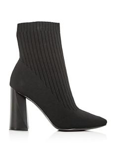 Kendall + Kylie - Women's Tina Knit High-Heel Booties