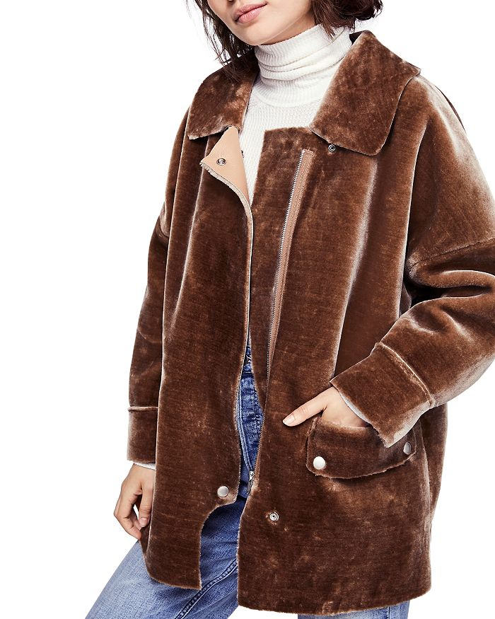 02ca7122973df Free People - Lindsay Faux Shearling Coat