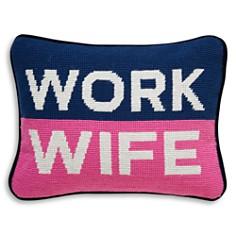 "Jonathan Adler - Work Wife Decorative Pillow, 9"" x 12"""