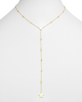 "Moon & Meadow - Star Y Necklace in 14K Yellow Gold, 17"" - 100% Exclusive"