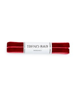 Trend Bar Velvet Shoelaces