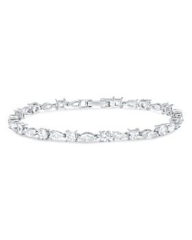 Crislu - Celebration Bracelet in Platinum-Plated Sterling Silver