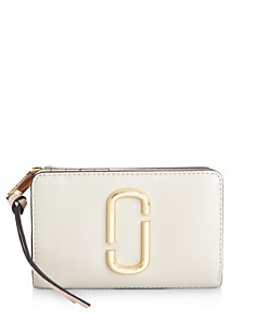 MARC JACOBS - Compact Continental Leather Wallet