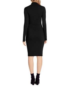 Michael Stars - Shirred Mock Neck Dress