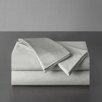Sullivan 400 Tc Cotton Sateen Solid Duvet Cover Set, King by Highline Bedding Co.