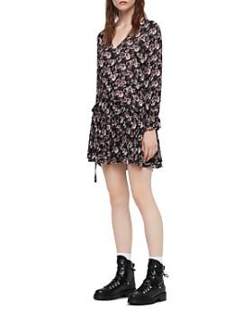 ALLSAINTS - Alia Odile Floral Print Dress