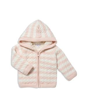 Angel Dear Girls Striped Knit SherpaLined Jacket  Baby