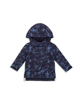 Miles Baby - Boys' Hooded Marbled Sweatshirt - Baby