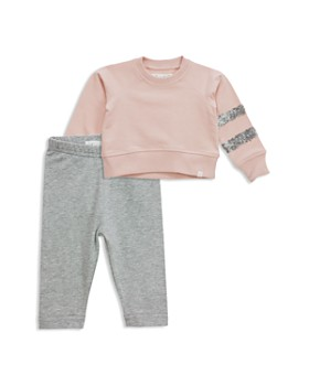 Sovereign Code - Girls' Sequin Sweatshirt & Leggings Set - Baby