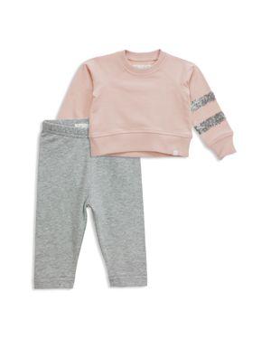 Sovereign Code Girls' Sequin Sweatshirt & Leggings Set - Baby