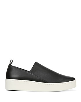 Vince - Women's Saxon Leather Platform Sneakers