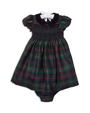 Ralph Lauren Girls Plaid Wool Dress  Bloomers Set  Baby