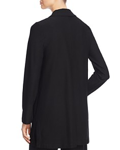 Eileen Fisher Petites - Long Open Front Blazer