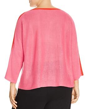 Eileen Fisher Plus - Organic Linen Sweater