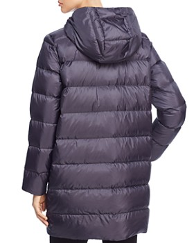 Eileen Fisher - Hooded Down Puffer Coat