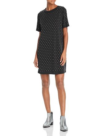 Splendid - Studded T-Shirt Dress