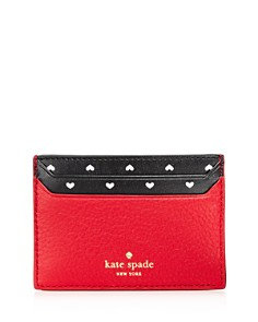kate spade new york - Blake Street Hearts Lynleigh Leather Card Case