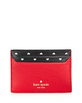 kate spade new york - Blake Street Hearts Lynleigh Leather Card Case