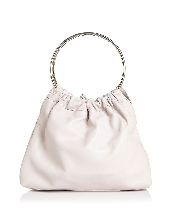 Little Liffner SMALL DOUBLE RING LEATHER SATCHEL