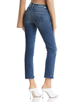 MOTHER - The Rascal Ankle Chewed-Hem Straight-Leg Jeans in The Ones We Used To Know