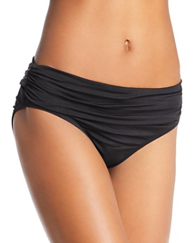 Kenneth Cole - Sexy Solids Shirred Hipster Bikini Bottom