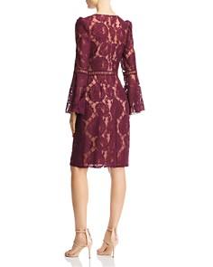 Tadashi Shoji - Bell-Sleeve Lace Dress