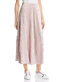 Free People - High Holiday Plissé Midi Skirt