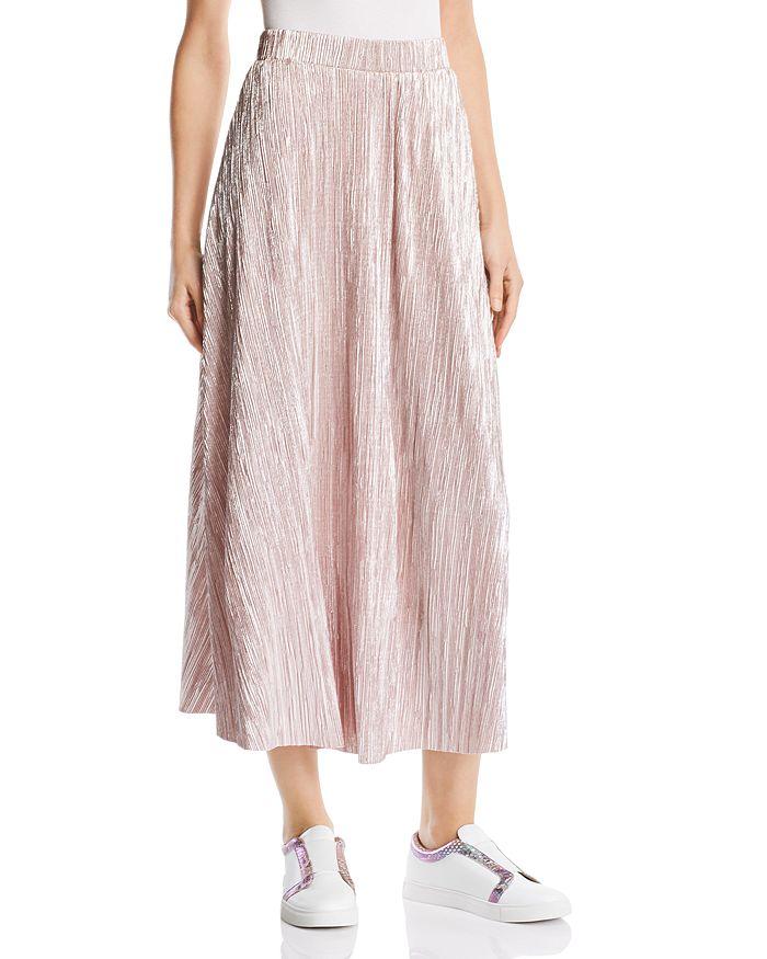 Free People - High Holiday Plissé Midi Skirt