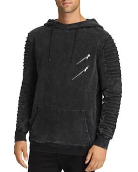 nANA jUDY - Montana Biker Hooded Sweatshirt