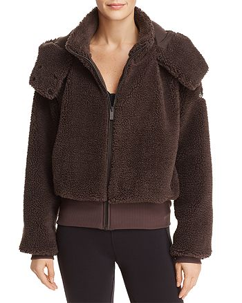 Alo Yoga - Foxy Sherpa Hooded Jacket