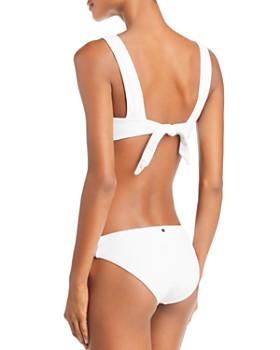 Dolce Vita - Cali Babe Knotted Waffle Bikini Top & Cali Babe Knotted Waffle Bikini Bottom